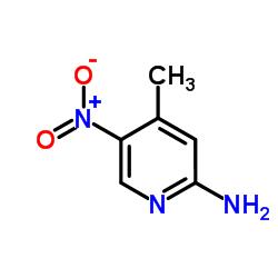 Suministro 2-amino-5-nitro-4-picolina CAS:21901-40-6