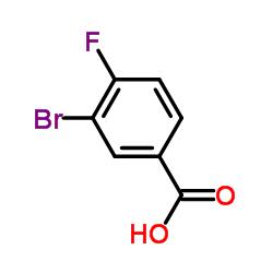 Suministro Ácido 3-bromo-4-fluorobenzoico CAS:1007-16-5