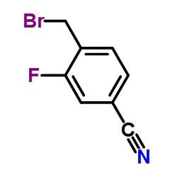 Suministro 4- (bromometil) -3-fluorobenzonitrilo CAS:105942-09-4