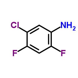 Suministro 5-cloro-2,4-difluoroanilina CAS:348-65-2