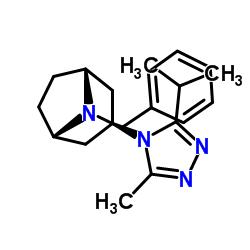 (1R,3s,5S)-8-Benzyl-3-(3-isopropyl-5-methyl-4H-1,2,4-triazol-4-yl)-8-azabicyclo[3.2.1]octane