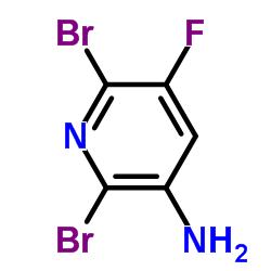 Suministro 2,6-dibromo-5-fluoropiridin-3-amina CAS:884494-99-9