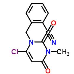 Suministro 2 - ((6-cloro-3-metil-2,4-dioxo-3,4-dihidropirimidin-1 (2H) -il) metil) benzonitrilo CAS:865758-96-9