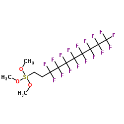 Suministro 3,3,4,4,5,5,6,6,7,7,8,8,9,9,10,10,10-heptadecafluorodecil (trimetoxi) silano CAS:83048-65-1