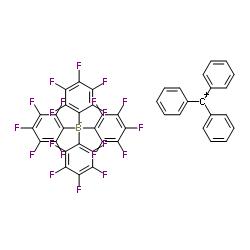 Suministro Tritil tetrakis (pentafluorofenil) borato CAS:136040-19-2