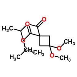 Suministro Diisopropil 3,3-dimetoxiciclobutano-1,1-dicarboxilato CAS:115118-68-8