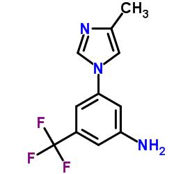 Suministro 3- (4-metil-1H-imidazol-1-il) -5- (trifluorometil) anilina CAS:641571-11-1