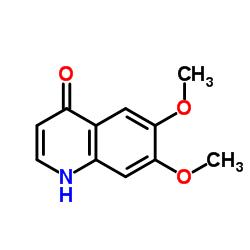 Suministro 6,7-dimetoxiquinolin-4-ol CAS:13425-93-9