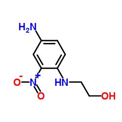 Suministro 2- (4-amino-2-nitroanilino) -etanol CAS:2871-01-4