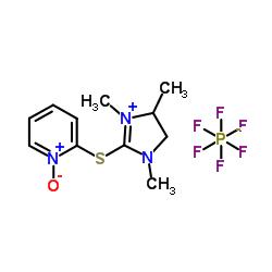 Suministro 1-oxido-2 - [(1,3,4-trimetil-4,5-dihidroimidazol-1-ium-2-il) sulfanil] piridin-1-ium, hexafluorofosfato CAS:366821-62-7