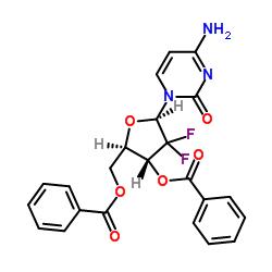 Suministro 2 ', 2'-difluoro-2'-desoxicitidina-3', 5'-dibenzoato CAS:134790-39-9