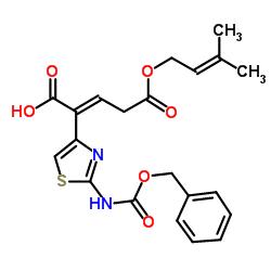 Suministro Ácido 5- (3-metilbut-2-enoxi) -5-oxo-2- [2- (fenilmetoxicarbonilamino) -1,3-tiazol-4-il] pent-2-enoico CAS:115065-79-7
