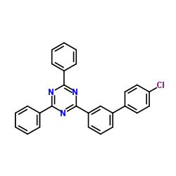 Suministro 2- (4'-cloro [1,1'-bifenil] -3-il) -4,6-difenil-1,3,5-triazina CAS:1443049-85-1