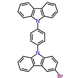 Suministro 9- (4- (9H-carbazol-9-il) fenil) -3-broMo-9H-carbazol CAS:1537218-76-0