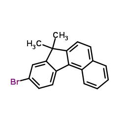 Suministro 9-bromo-7,7-dimetil-7H-benzo [c] fluoreno CAS:1198396-46-1