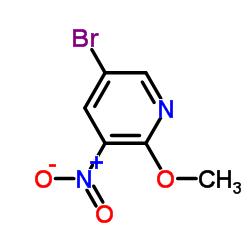 Suministro 5-bromo-2-metoxi-3-nitropiridina CAS:152684-30-5