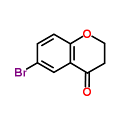 Suministro 6-bromo-2,3-dihidro-4H-cromo-4-ona CAS:49660-57-3