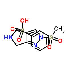 Pyrrolo[3,4-c]pyrazole, 2,4,5,6-tetrahydro-2-(methylsulfonyl)-, benzenesulfonate