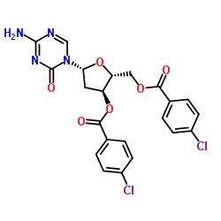 Suministro 3 ', 5'-Bis-O- (4-clorobenzoil) -2-desoxi-5-azacitosina CAS:1034301-08-0