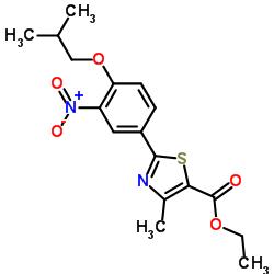 Suministro 4-metil-2- [4- (2-metilpropoxi) -3-nitrofenil] -1,3-tiazol-5-carboxilato de etilo CAS:144060-93-5