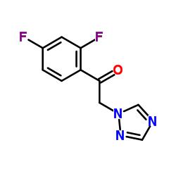 Suministro 2- (1H-1,2,4-Triazol-1-il) -2 ', 4'-difluoroacetofenona CAS:86404-63-9