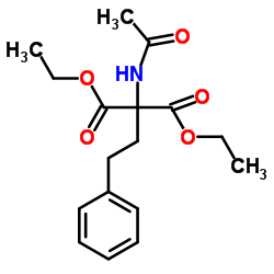 Suministro 2-acetamido-2- (2-feniletil) propanodioato de dietilo CAS:5463-92-3