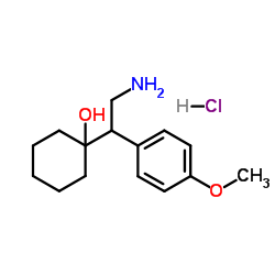 1-[2-Amino-1-(4-methoxyphenyl)ethyl]cyclohexanol Hydrochloride