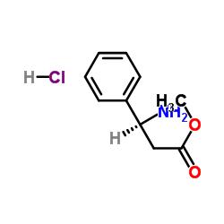 Suministro clorhidrato de metil (3S) -3-amino-3-fenilpropanoato CAS:144494-72-4