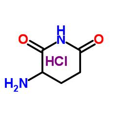 Suministro Clorhidrato de 3-aminopiperidina-2,6-diona CAS:2686-86-4