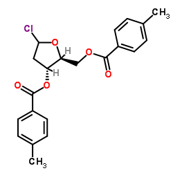 Suministro (2S, 3R, 5R) -5-cloro-2 - (((4-metilbenzoil) oxi) -metil) tetrahidrofuran-3-il 4-metilbenzoato CAS:141846-57-3