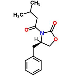 Suministro (R) -3- (3-metilbutanoil) -4-benciloxazolidin-2-ona CAS:145589-03-3